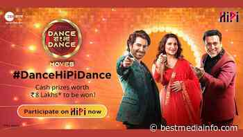 HiPi ties up with Zee Bangla's Dance Bangla Dance, makes it more engaging for viewers, contestants - Best Media Info