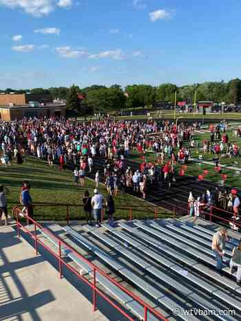 Coldwater Class of 2021 receive diplomas at Cardinal Field - WTVB News