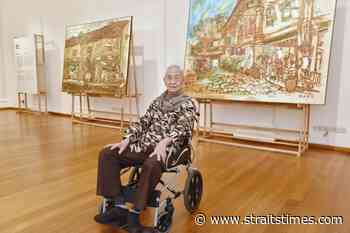 Singapore's oldest living pioneer artist Lim Tze Peng marks 100 years - The Straits Times