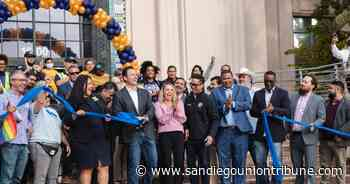 County ceremony marks San Diego reopening - The San Diego Union-Tribune