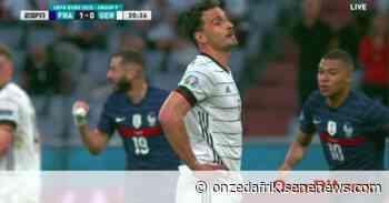 La France trouve le chemin des filets contre l'Allemagne après une nette domination, 1-0 (vidéo) - Onze d'Afrik - L'actualité du football - Onze d'Afrik