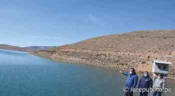 Arequipa: represa Pasto Grande entregará agua al valle de Tambo - LaRepública.pe