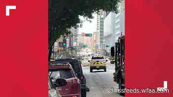 Roads reopened after gas leak prompts closure on Elm Street in downtown Dallas
