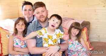 Selfless single dad adopts sixth child - and says he might have another