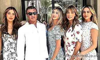 Sylvester Stallone celebrates his daughter Scarlet's high school graduation