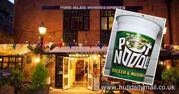 The Hull pub offering 'delicacy' combo of a Pot Noodle and a pint - Hull Live