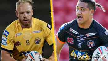 Oliver Holmes & Peter Mata'utia: Warrington Wolves to sign Castleford Tigers duo from 2022