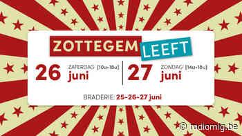 Braderie in Zottegem - Streekradio MIG - Radio MIG
