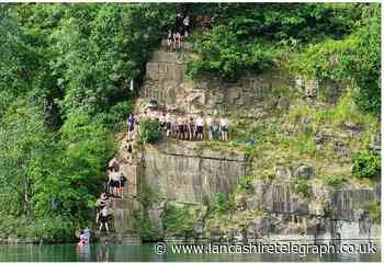 Hundreds of intoxicated teens putting lives at risk by jumping into quarry