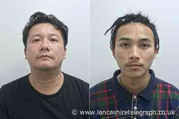 Men who helped to run East Lancashire cannabis farms jailed