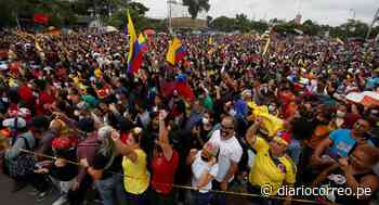 Un puño en alto que representa la lucha social es inaugurado en Cali - Diario Correo