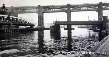 Newcastle and Gateshead's iconic Swing Bridge across the River Tyne is 145