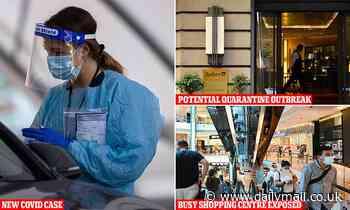 Covid-19 Australia: Victoria Park shopping centre on virus alert after Bondi infected case