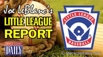 Little League Report: Mims, Merritt Island Advance to Baseball, Softball Section 3 Tournament - SpaceCoastDaily.com