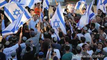 La marcha de las banderas llega al casco antiguo de Jerusalén Este - Anadolu Agency   Español