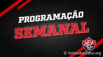 Vitória divulga programação para jogos contra Remo e Brusque - Futebol Bahiano