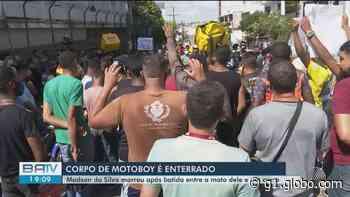 Motoboy que morreu em acidente em Itabuna é enterrado; condutor envolvido na batida é médico - G1