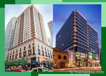 2 Downtown rental towers hit market for about $100M each - The Real Deal