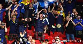Scottish and English tourist hotspots ban opposing fans ahead of Euro 2020 clash