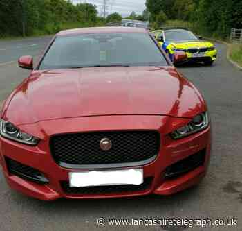 'Disgraceful' Burnley Jaguar driver blew almost FIVE times drink drive limit at 10am
