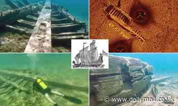 Wreckage of 'cursed' vessel The Griffin is identified nearly 350 years after it vanished