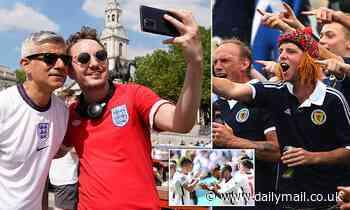 Sadiq Khan warns ticketless Scotland fans not to gather in London for Euro 2020 clash