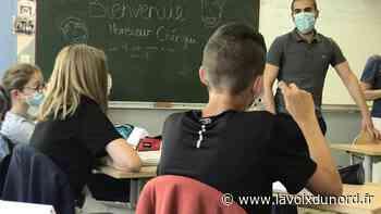 Oignies : L'épicier-écrivain Djamel Cherigui a rencontré les élèves du collège Pasteur - La Voix du Nord