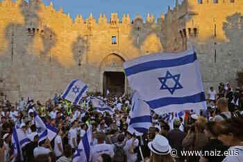 La marcha sionista en Jerusalén aumenta la provocación a los palestinos - NAIZ