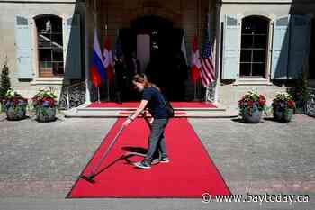 The Latest: Biden and Putin open summit with a handshake