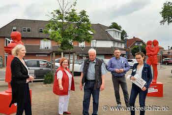 SoVD-Kampagne gegen Armut machte Station auf dem Hindenburgplatz in Uetze - AltkreisBlitz