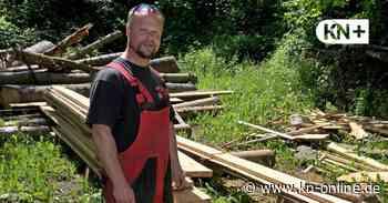 Downhill in Ascheberg: Mountainbike-Trainingsstrecke entsteht - Kieler Nachrichten