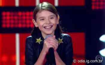 Talento riostrense se apresenta no reality The Voice Kids - O Dia