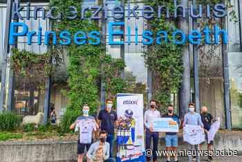 28.114 euro voor Kinderziekenhuis UZ Gent dankzij fietstocht naar Mont Ventoux