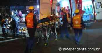 Colisão entre motocicletas deixa dois feridos no Centro de Arroio do Meio - independente