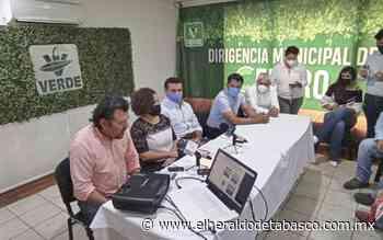 Defenderá Partido Verde la alcaldía en Emiliano Zapata - El Heraldo de Tabasco
