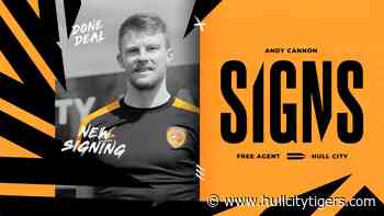 Hull City Sign Andy Cannon - News - HULL CITY TIGERS