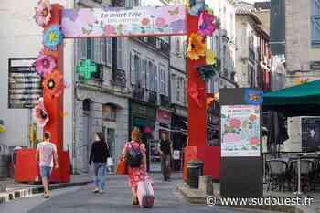 Bayonne met des fleurs et de la couleur dans ses rues - Sud Ouest