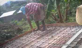 Avanzan trabajos de modernización de un acueducto rural en Oporapa - Noticias
