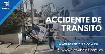 Un motocarro se estrelló contra una vivienda en Palermo - BC Noticias