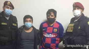 Trujillo: intervienen a dos presuntos hampones de La Dupla de Palermo - LaRepública.pe