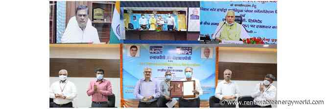 NHPC signs MOU for implementation of 130.1-MW Dagmara hydroelectric project