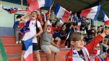 Jeumont: plus de 200 personnes font trembler le stade Mathez pour France-Allemagne - La Voix du Nord