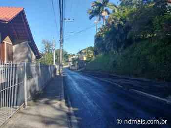 Túnel na saída da Ponte de Ferro é interditado em Blumenau - ND Mais