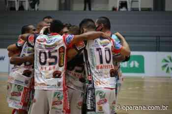 Cascavel Futsal faz confronto contra o Blumenau pela Liga Nacional de Futsal - O Paraná