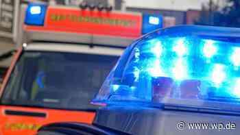 Finnentrop: Frau verliert Bewusstsein und fährt gegen Wand - Westfalenpost