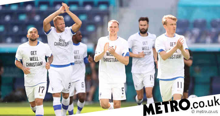 Finland pay classy tribute to Christian Eriksen before Euro 2020 clash with Russia