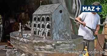 Neuruppin: Die Arche Noah steht in Karwe - Kunst als Hoffnungszeichen - Märkische Allgemeine Zeitung