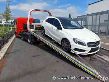 'Suspicious' car may be stolen seized by Bolton police - The Bolton News