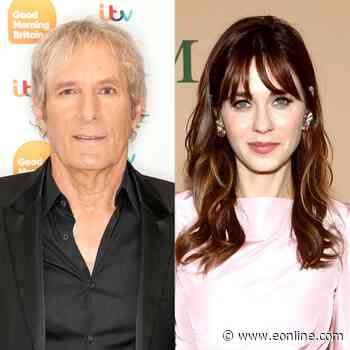 Why Zooey Deschanel Would Love To Play Matchmaker for Michael Bolton - E! Online