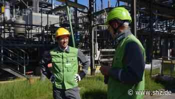 Pilotprojekt Grüner Wasserstoff: Umweltminister Jan Philipp Albrecht informiert sich in Raffinerie Heide über Wasserstofftechnologie | shz.de - shz.de